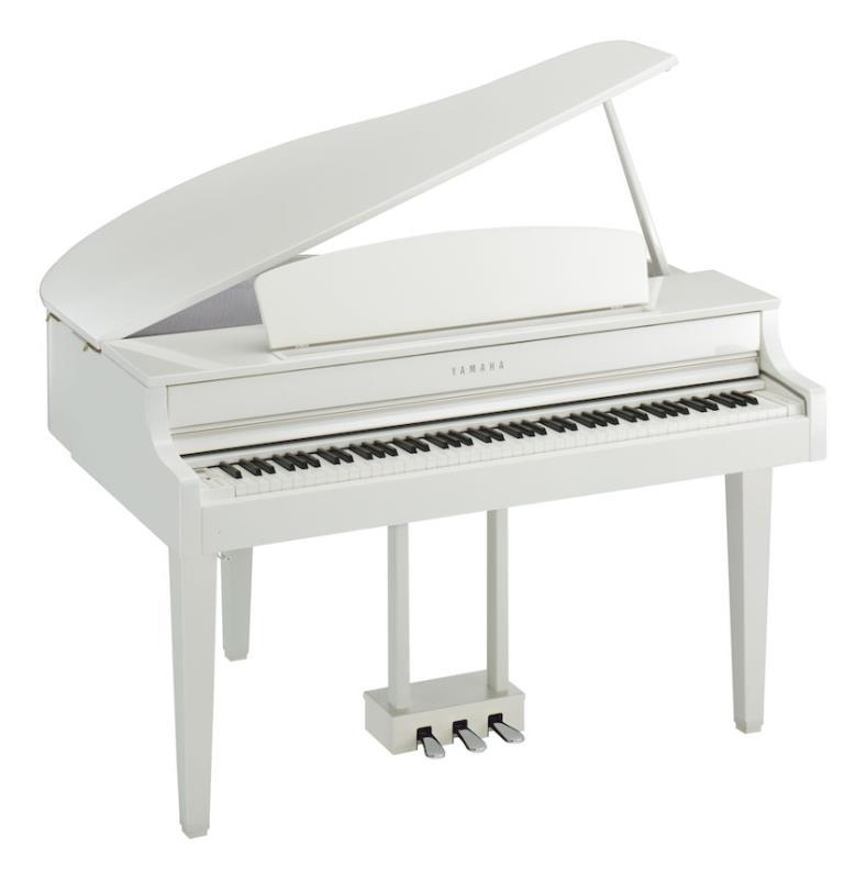 yamaha-clp-665gp-clavinova-digital-piano-polished-white-460696