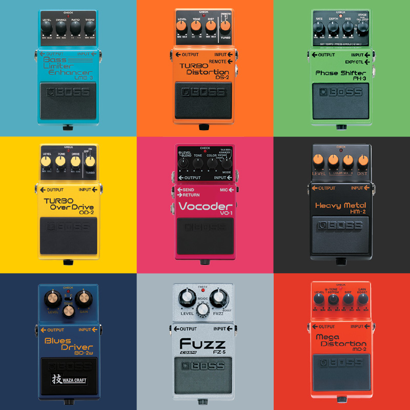 the abc 39 s of boss guitar effects pedals gak blog. Black Bedroom Furniture Sets. Home Design Ideas