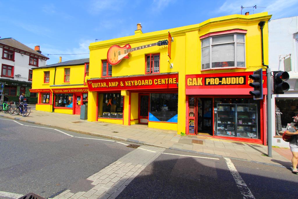 GAK25 Shop Front