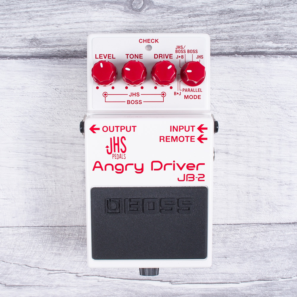 BOSS' First Ever Collaboration Pedal. The Boss/JHS JB-2 ANGRY DRIVER!