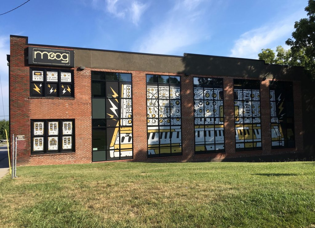 GAK Visits The Legendary MOOG Music Factory!