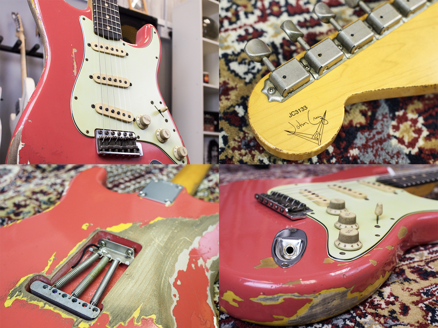 Gary Moore Signature Fender Custom Shop Stratocaster