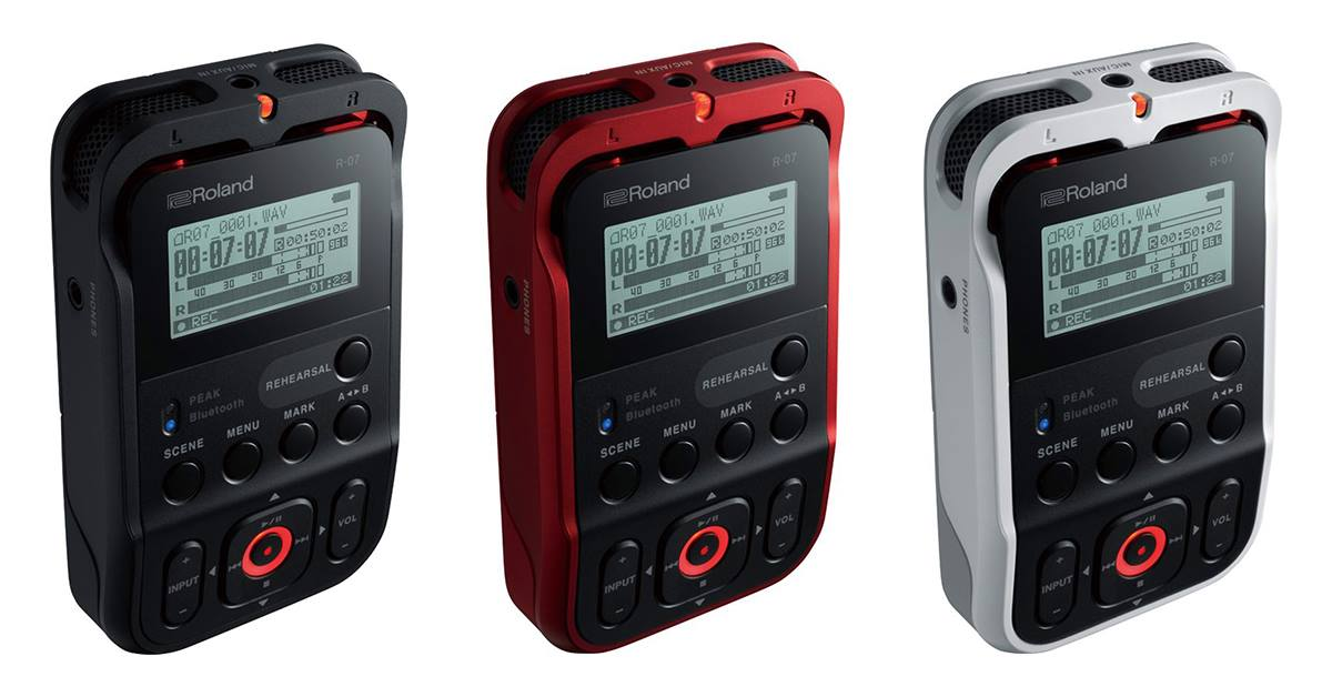 Introducing the Roland R-07 High-Resolution Audio Recorder