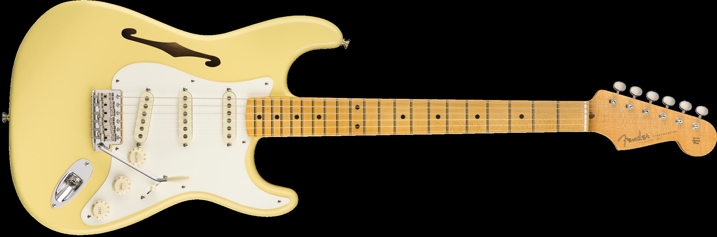 Brand New Fender Eric Johnson Thinline Stratocaster!