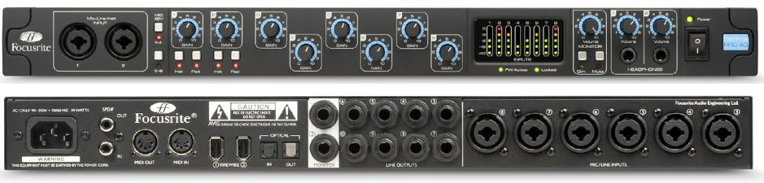Focusrite Introduce New Clarett USB Range