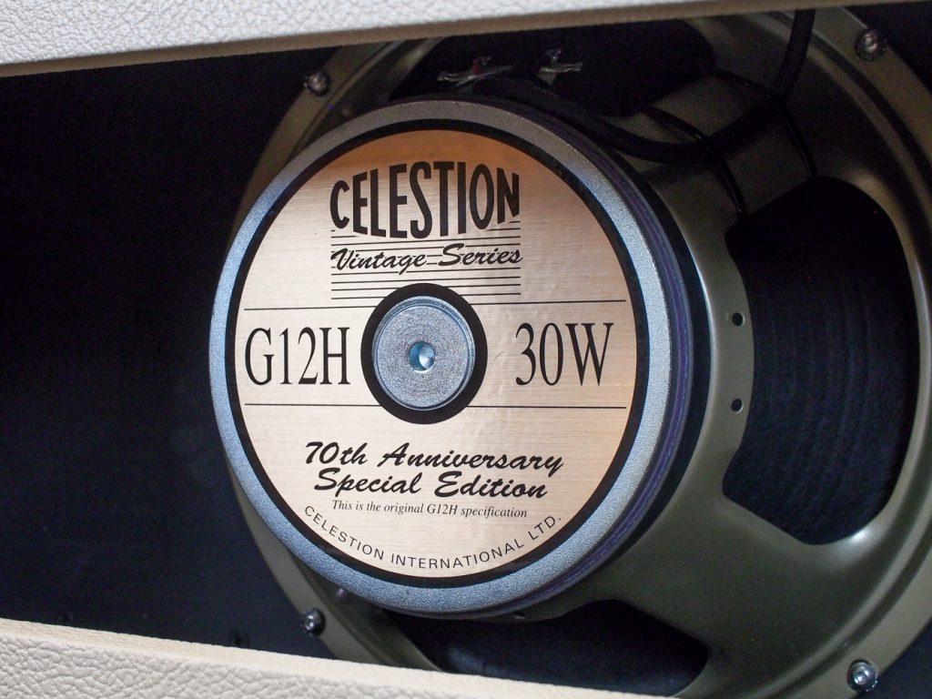 """Artist 20+RT MkIII 1x12"""" Combo G12H Anniversary, Cream - Celestion Speaker"""