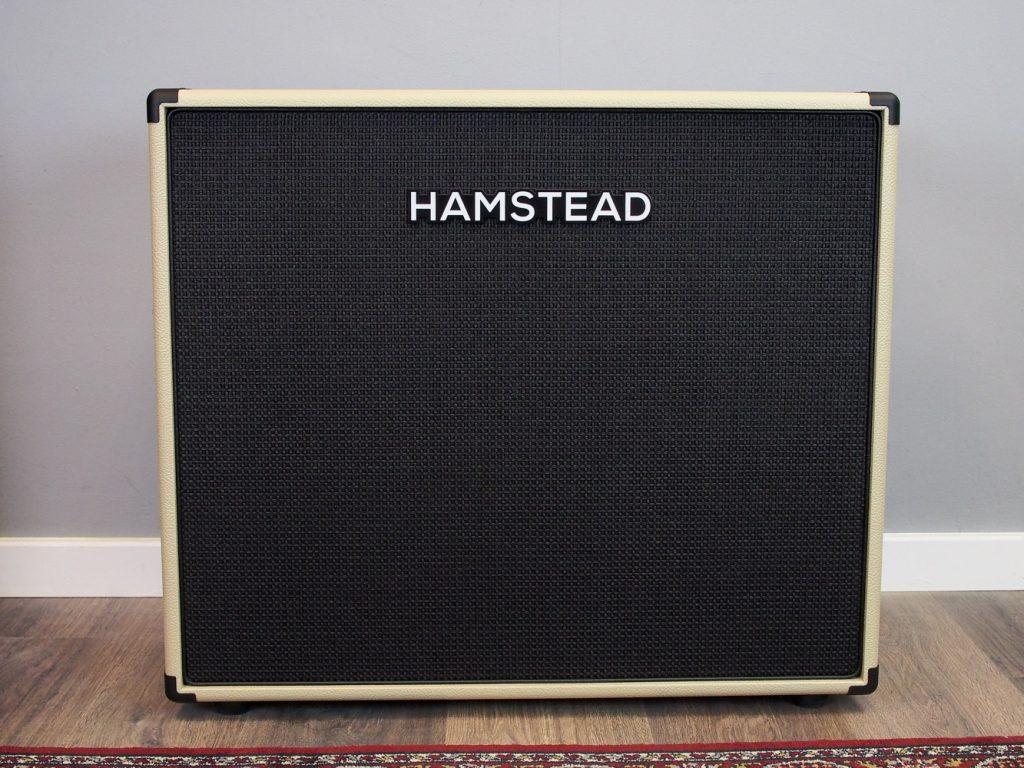 "2x12"" 'D' Offset Speaker Cabinet, Cream"