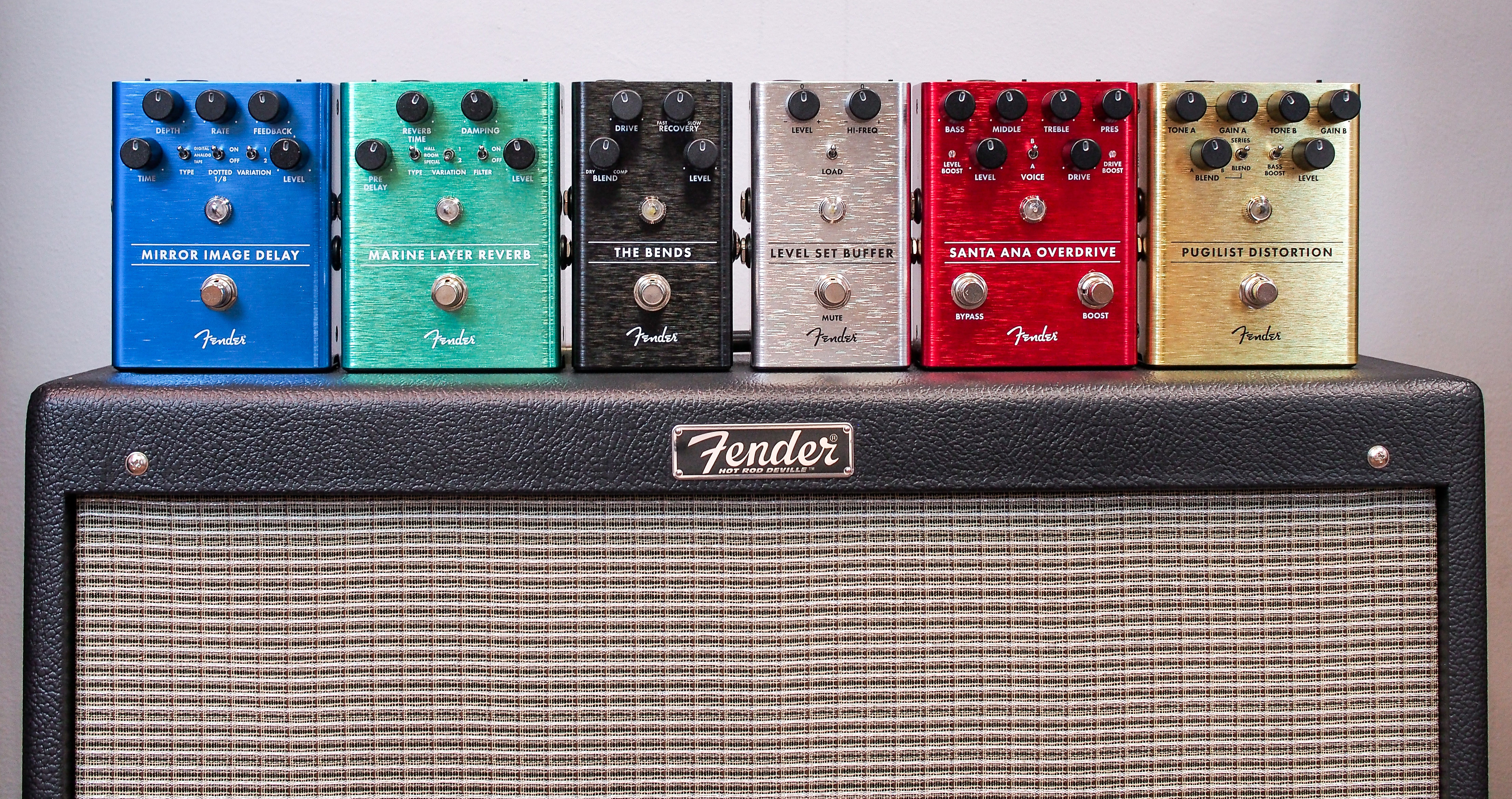 Brand New Fender Effects Pedals!
