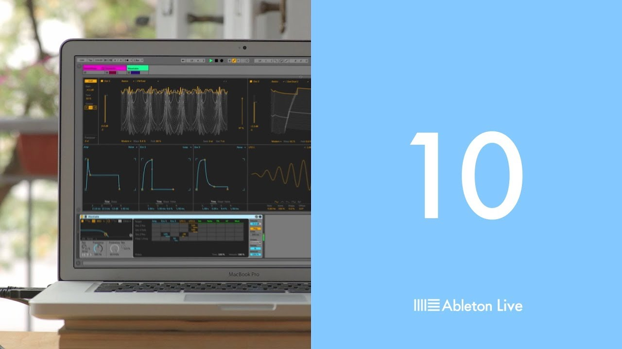 Ableton Releases Ableton Live 10