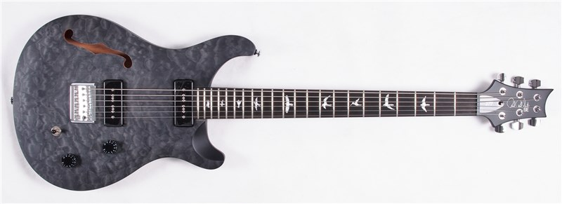 New! PRS Guitars Limited Edition SE Satin Quilt Stealth Series!