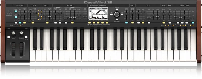 The Anticipated Behringer Model D Analogue Synth!