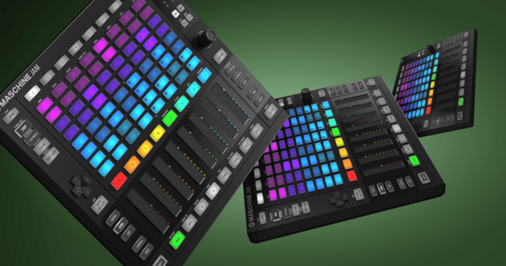 Free Expansions (worth £300) with Native Instruments Maschine Jam!