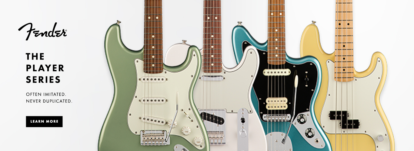 JUST ANNOUNCED! NEW Fender Player Series!