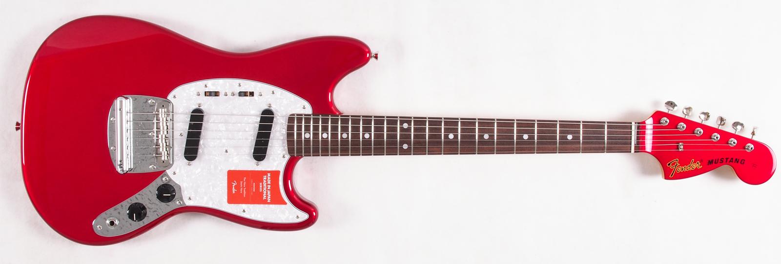 Fender FSR Japan Mustang Candy Apple Red