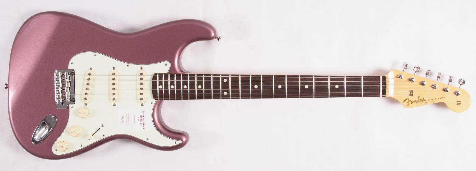 Fender FSR Japan Classic '60s Stratocaster Burgundy Mist Metallic