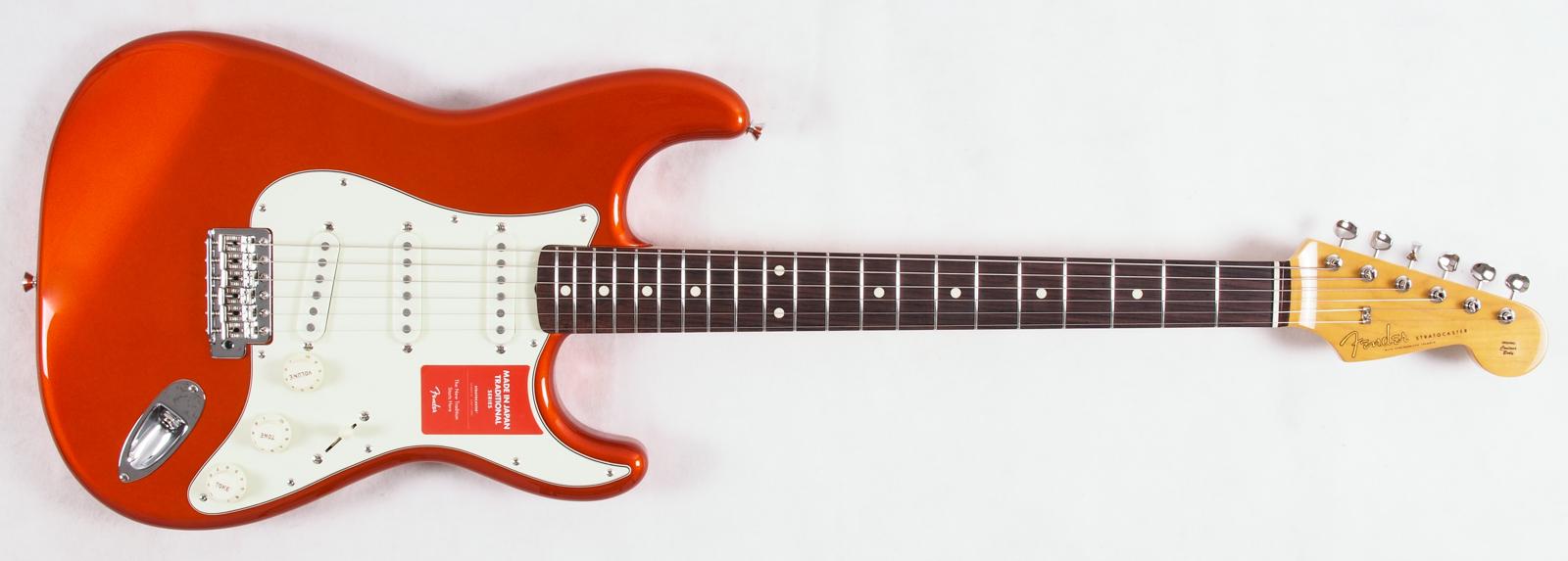 Fender FSR Japan Classic '60s Stratocaster Candy Tangerine