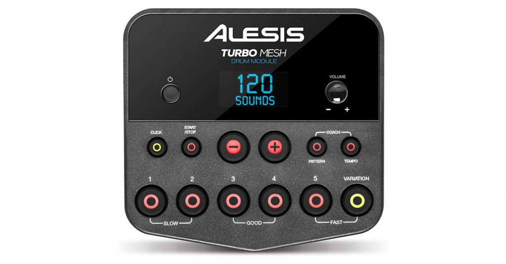 Alesis Announce NEW Affordable 7-Piece Turbo Mesh Kit! | GAK co uk