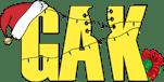 GAK.co.uk Xmas logo