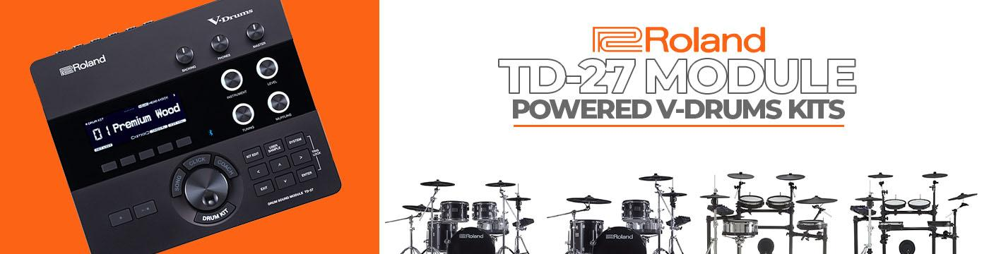 Roland TD-27 Module Banner