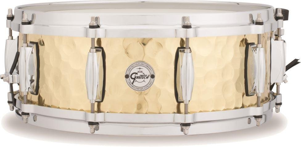 Natural Satin Gretsch S1-0814 Gold Series Swamp Dawg 14x8in Mahogany Snare