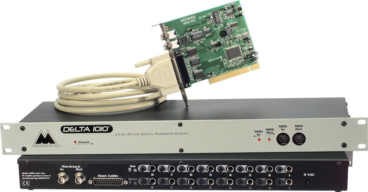 M-Audio Delta PCI Professional Sound Audio Interface Card
